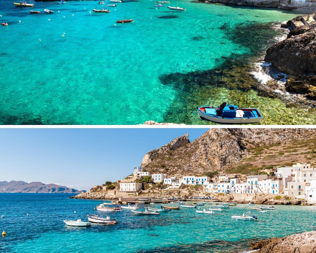 Egadi Islands -Sicily 3 carribean pearls in the Mediterranean sea_1