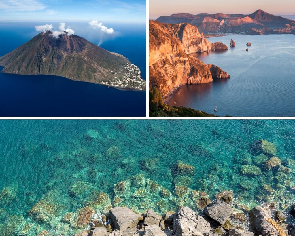 island off the coast of italy