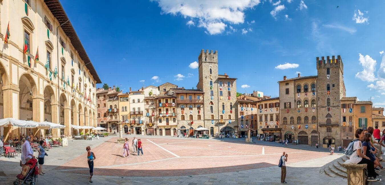 Arezzo walking tour